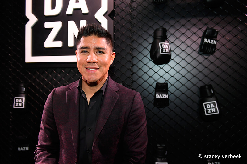 DAZN Jessie Vargas Verbeek - Quick Hits: Undercard fighters ready themselves for their night in the 'City of Champions'