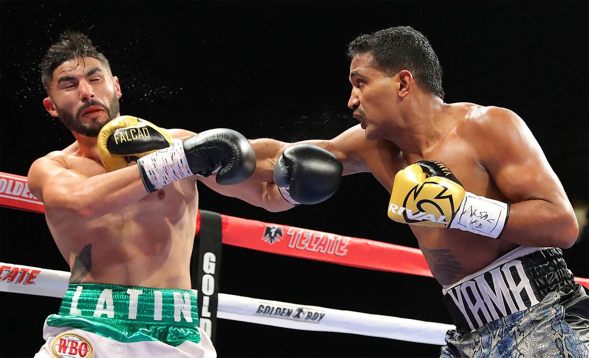 FalcaoEspadas Hoganphotos1 - Yamaguchi Falcao to face Christopher Pearson on May 2