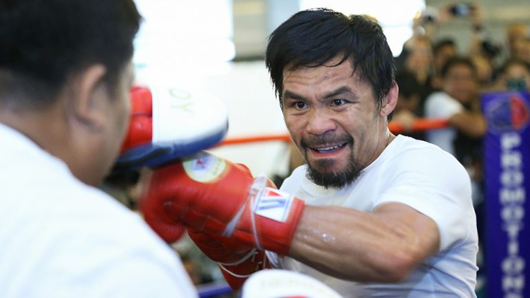 Photo gallery: Manny Pacquiao-Lucas Matthysse media workout
