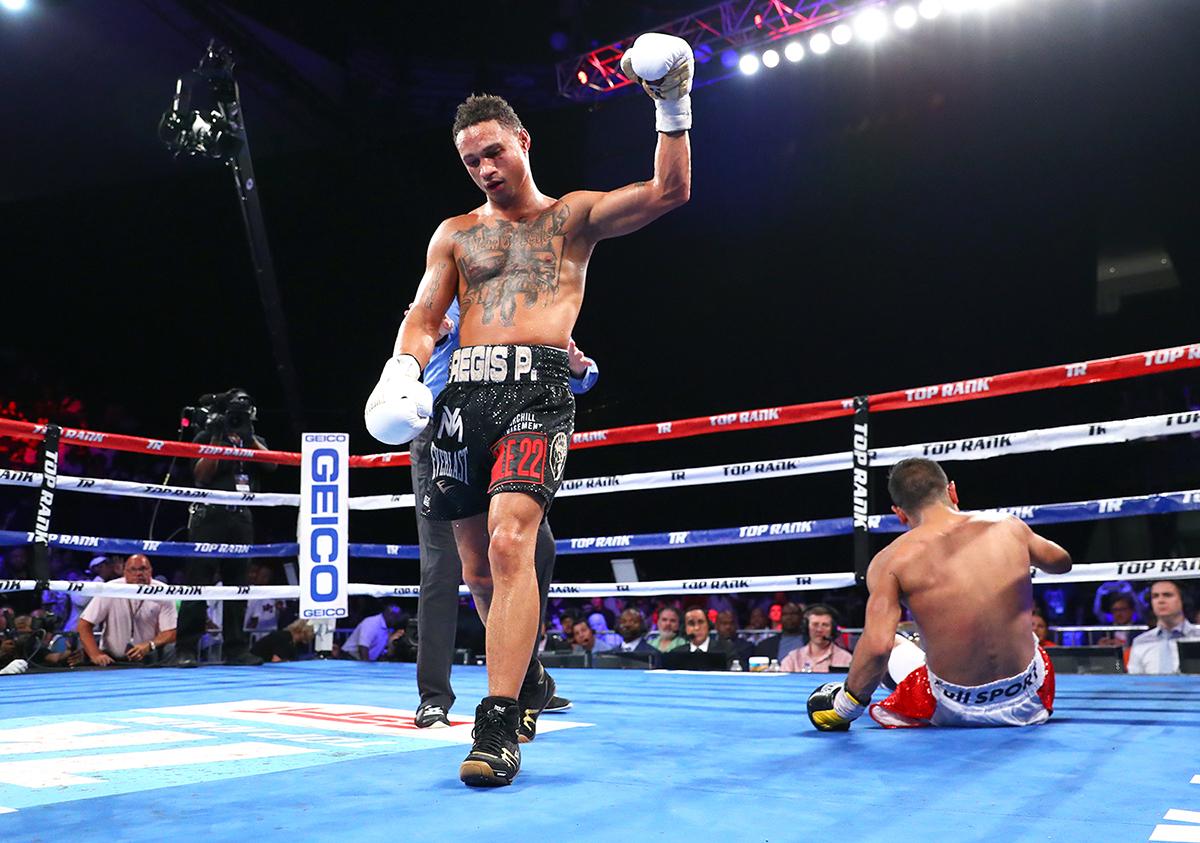 Regis Prograis vs Juan Jose Velasco knockdown2 mikey williams TR - Regis Prograis talks unification, Mayweather and McGregor