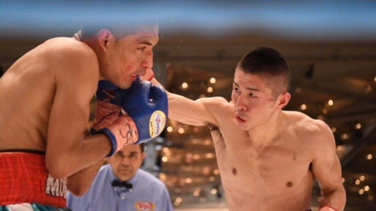 Ryuya Yamanaka wants to win big against Vic Saludar on Friday