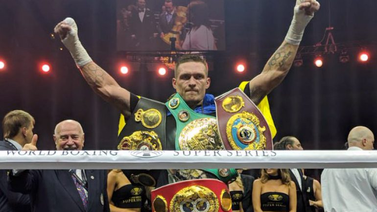 Ring Ratings Update: Usyk wins Ring cruiserweight title, leaps forward in P4P rankings