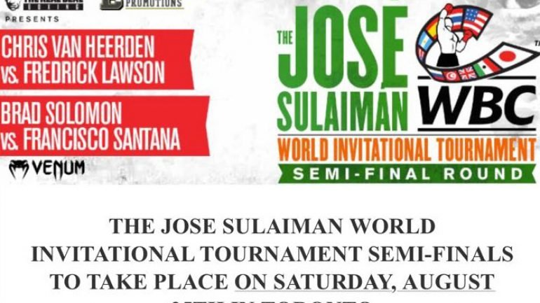 Santana-Solomon, Van Heerden-Lawson set for WBC tourney semis in Toronto