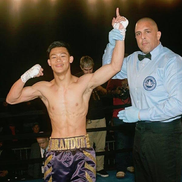 Welterweight prospect Brandon Lee (left). Photo courtesy of the Lee family