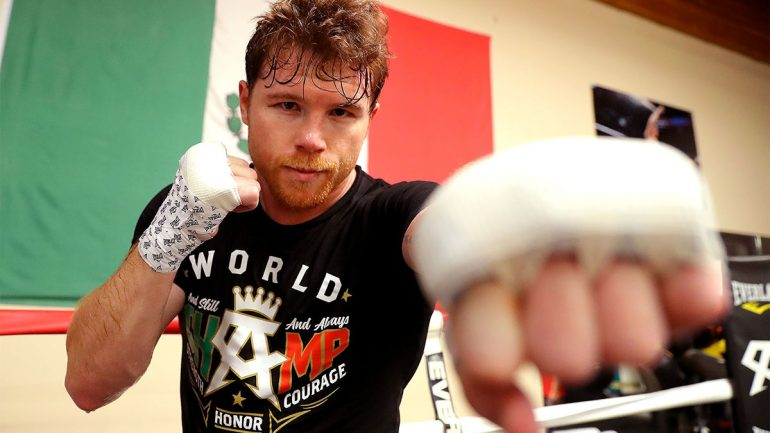 Canelo Alvarez on Golovkin rematch: 'My objective is to hurt him and knock him out'