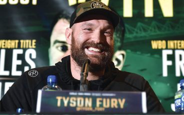 Fury steps up to take the Wilder challenge