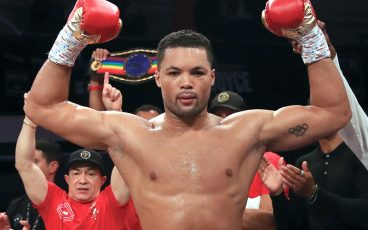Joe Joyce got a late start, but it's a promising one