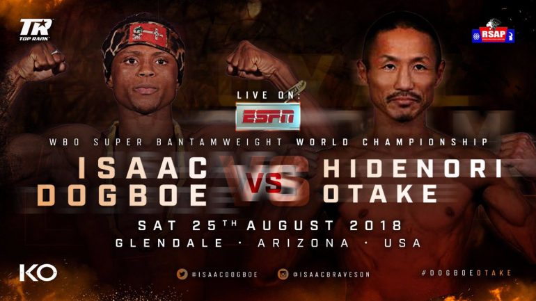 Isaac Dogboe feels like he's starting over with his first title defense