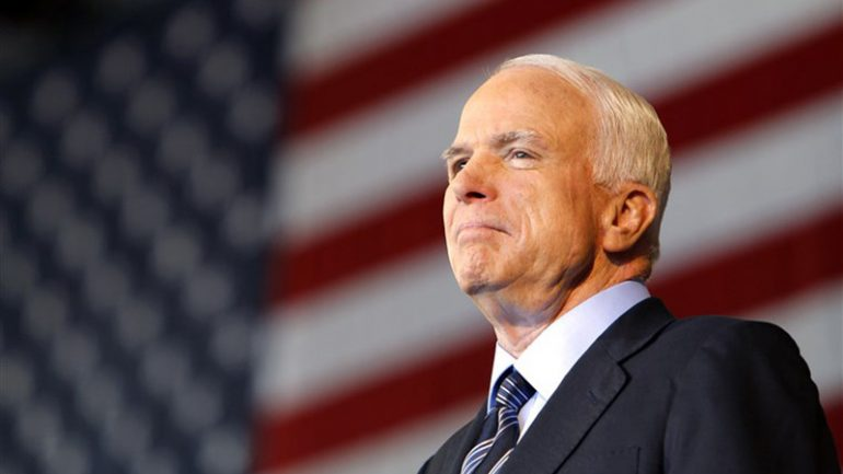 "Bob Arum on the passing of ""The Boxing Senator"" John McCain: ""He was a great American"""