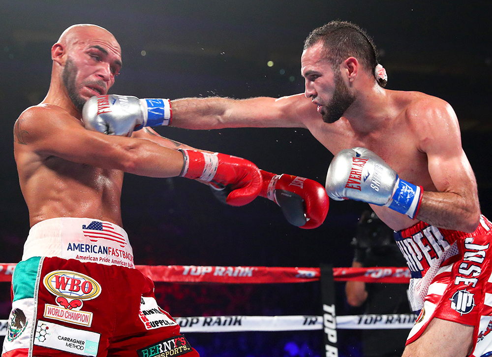 Pedraza right on Beltran mikey williams TR - Richard Commey to defend IBF title against Ray Beltran on June 28