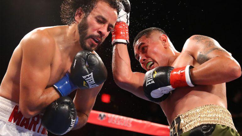 Emilio Sanchez stops Christopher Martin in five at LA Fight Club
