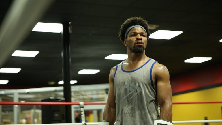 Photo gallery: Shawn Porter trains to face Danny Garcia