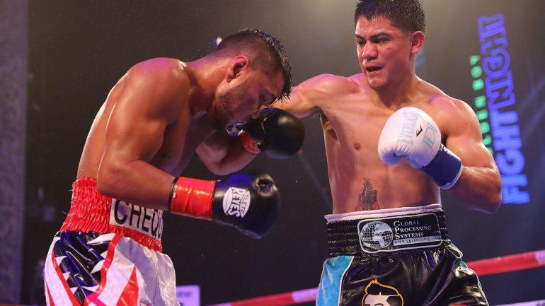 Joseph Diaz Jr. outpoints Jesus Rojas, claims 12-round unanimous decision