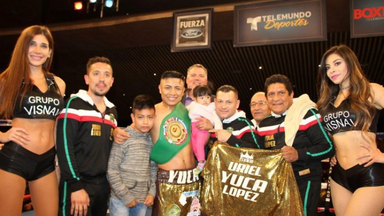 Victor Uriel Lopez blasts out Antonio Tostado in two rounds