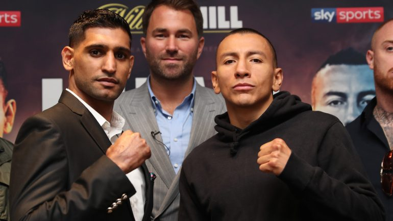 Amir Khan: 'I'm not seeing Samuel Vargas as another Phil Lo Greco'