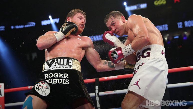 Canelo Alvarez ekes by Gennady Golovkin in thrilling rematch to win middleweight championship