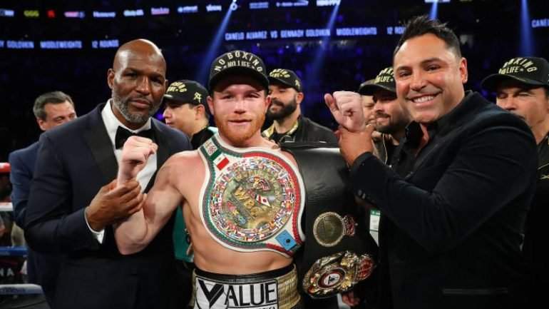 Press release: An Open Letter To Fight Fans from Oscar De La Hoya