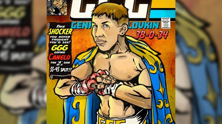 Rob Ayala, the 'boxing comics guy,' draws from inspiration
