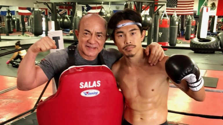 Kazuto Ioka: 'I want to become the first four-weight champion in Japanese boxing'