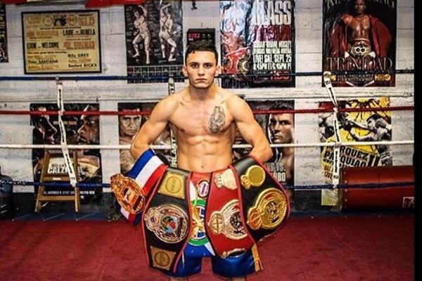 Undefeated junior lightweight James Wilkins. Photo courtesy of James Wilkins
