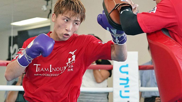Photo gallery: Naoya Inoue media workout