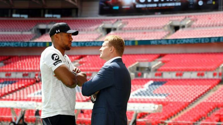 Anthony Joshua-Alexander Povetkin press conference quotes