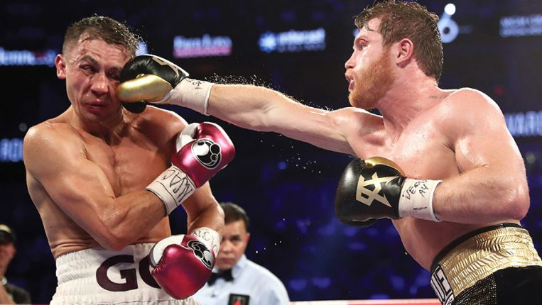 A Classic Too Close to Call The thrilling Canelo-GGG rematch produced a winner, but the debate rages on By Doug Fischer