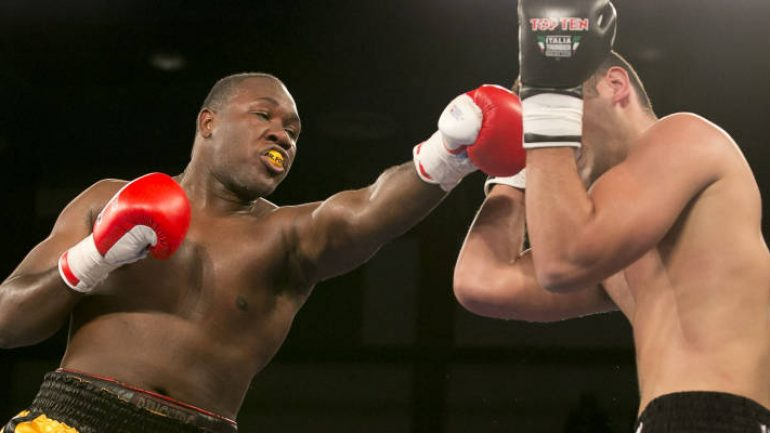 Heavyweight Clayton Laurent to resume hurricane-delayed career on Garcia-Porter card