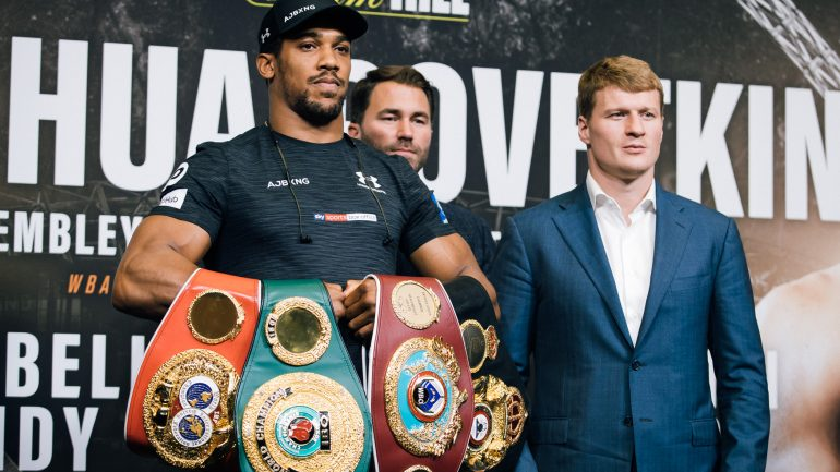 While we wait for Anthony Joshua-Deontay Wilder, Alexander Povetkin fills the void