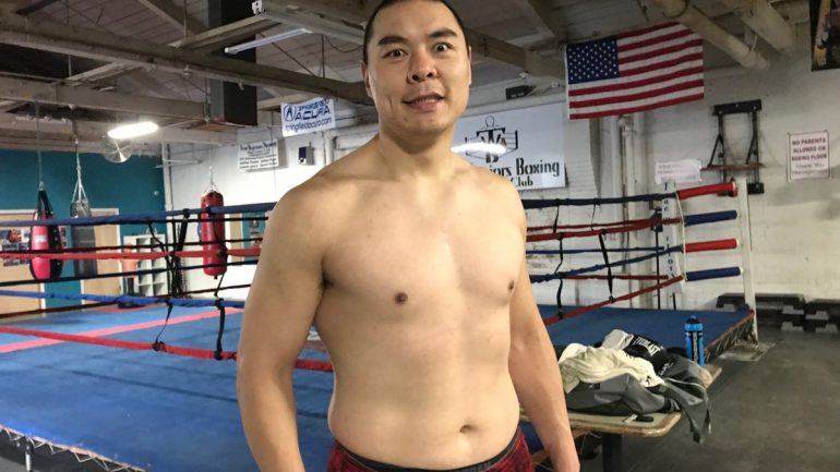 Zhang Zhilei, 'Giant man from China,' wants heavyweight title shot