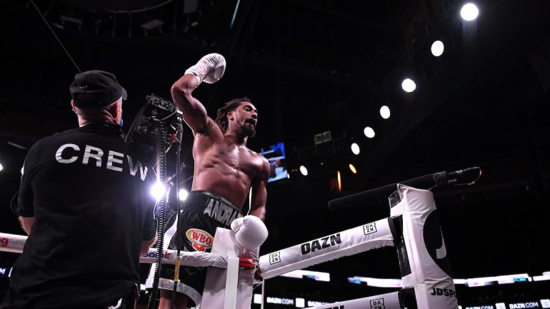 Fighting Words – Demetrius Andrade is Still Only Halfway to Reality