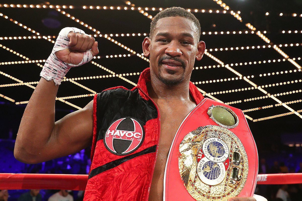 Welcome to The Daniel Jacobs Show - The Ring