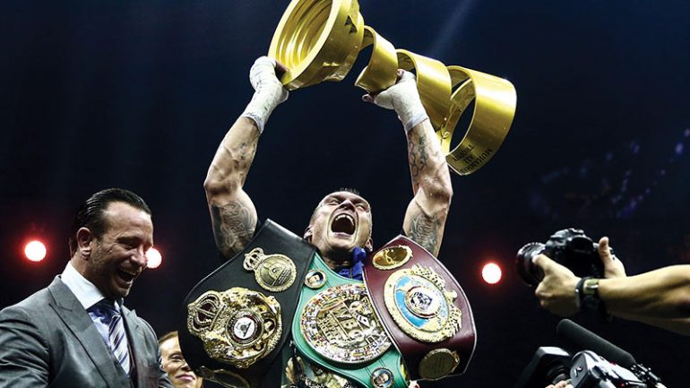 Press Release: Aleksandr Usyk to make heavyweight debut against Tyrone Spong on October 12