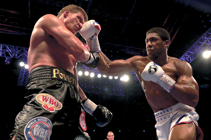 Anthony Joshua vs  Jarrell Miller: Who wins and how? - The Ring