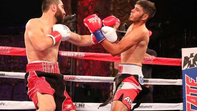 Ferdinand Kerobyan annihilates Rolando Mendivil in opening round