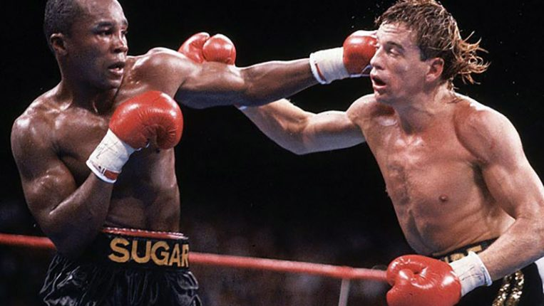 A Little Sugar and Two Lumps of Gold A look back at Sugar Ray Leonard's double title-winning victory over Donny Lalonde By Tom Gray