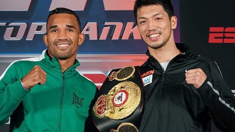 Ryota Murata eager to please U.S. audience against Rob Brant on Saturday