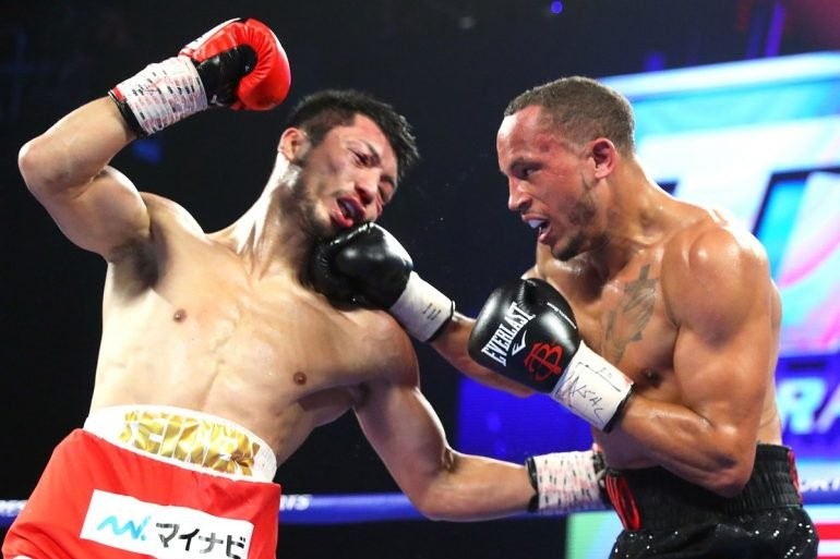 Middleweight Ryota Murata (left) vs. Rob Brant. Photo credit: Top Rank