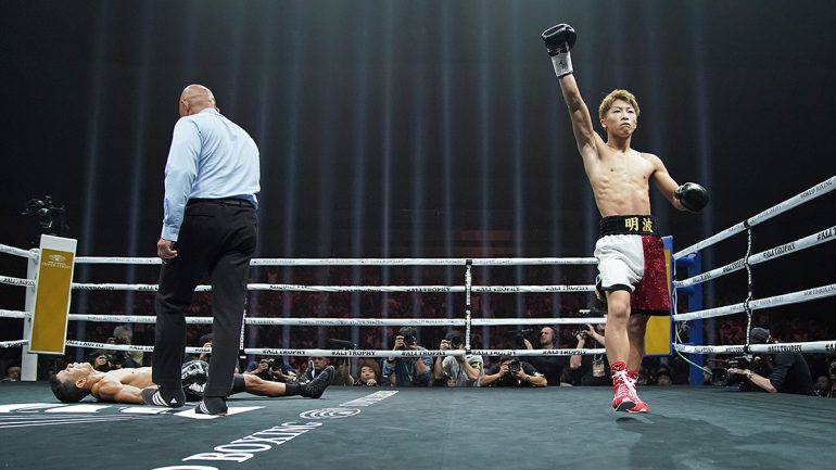 Naoya Inoue blows away Juan Carlos Payano in 70 seconds to open WBSS bantam tourney