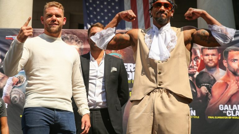 Demetrius Andrade on Billy Joe Saunders: 'As long as he's clean, follows VADA, I would definitely fight him'