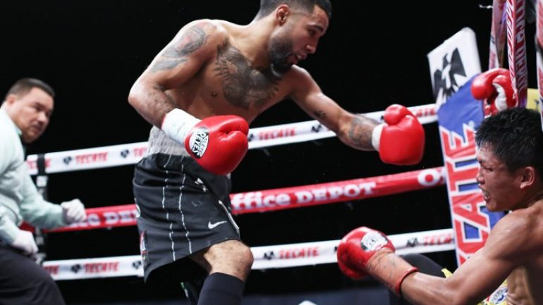 Luis Nery stops Jason Canoy in three, back in the mix at bantamweight