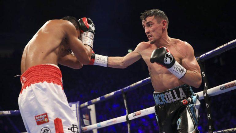 Anthony Crolla outpoints Daud Yordan, Ricky Burns wins by knockout