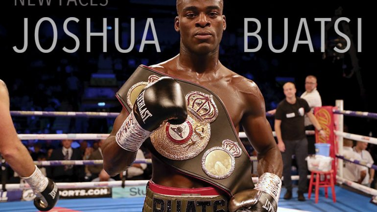 The only one in Joshua Buatsi's future right now is Ricards Bolotnicks