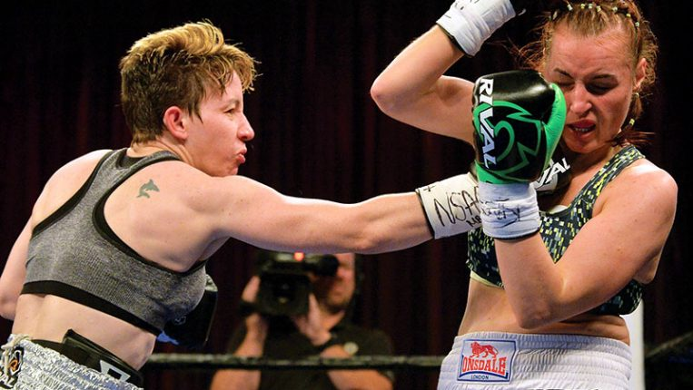 Laying in Wait Layla McCarter's 20-year quest to find a big fight By Thomas Gerbasi