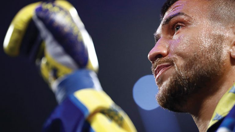 Vasiliy Lomachenko slated to defend Ring lightweight championship April 12 in L.A.