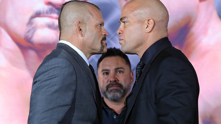 Tito Ortiz and Chuck Liddell trade final barbs before third showdown