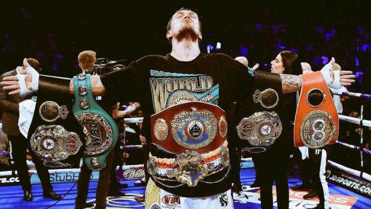 Fighter of the Year Aleksandr Usyk By Tom Gray