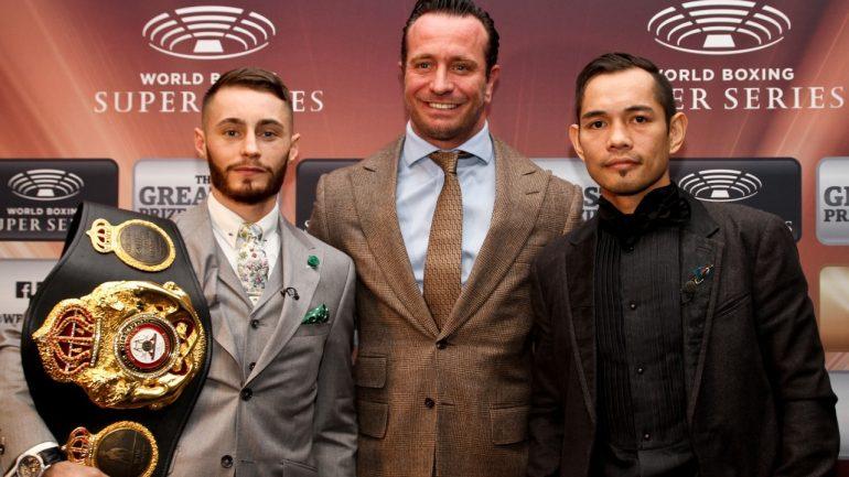 Nonito Donaire stops injured Ryan Burnett, claims WBA bantamweight title