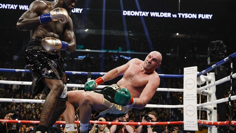 Tyson Fury: Back to the Wilder-ness