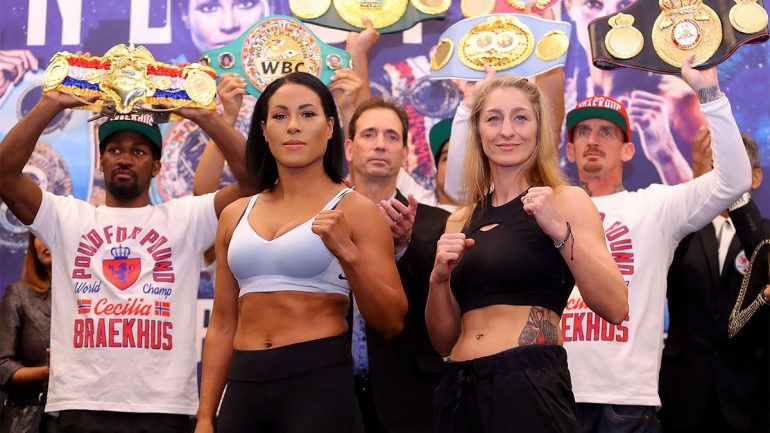 Gallery: Braekhus-Lopes, Shields-Hermans, Estrada-Mendez weigh-in